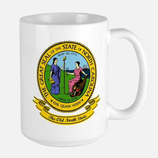 North Carolina Seal Mugs
