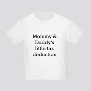 Mommy And Daddys Little Tax Deduction T-Shirt