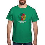 Cameroon World Cup 2014 Dark T-Shirt