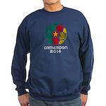 Cameroon World Cup 2014 Sweatshirt (dark)