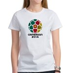 Cameroon World Cup 2014 Women's T-Shirt