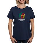 Cameroon World Cup 2014 Women's Dark T-Shirt