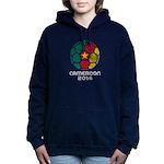 Cameroon World Cup 2014 Women's Hooded Sweatshirt