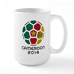 Cameroon World Cup 2014 Large Mug