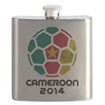 Cameroon World Cup 2014 Flask
