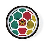 Cameroon World Cup 2014 Wall Clock
