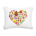 Cameroon World Cup 2014 Rectangular Canvas Pillow
