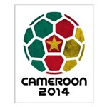 Cameroon World Cup 2014 Small Poster