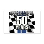 50 Anniversary Decal Wall Sticker