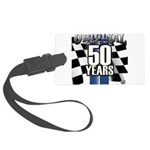 50 Anniversary Large Luggage Tag