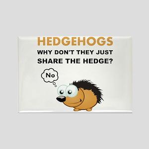 Hedgehog Share Magnets