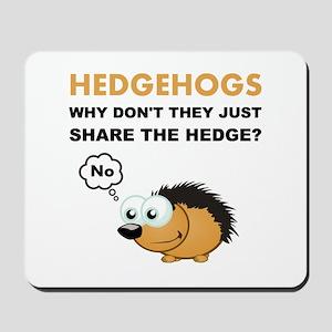 Hedgehog Share Mousepad