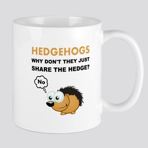 Hedgehog Share Mugs
