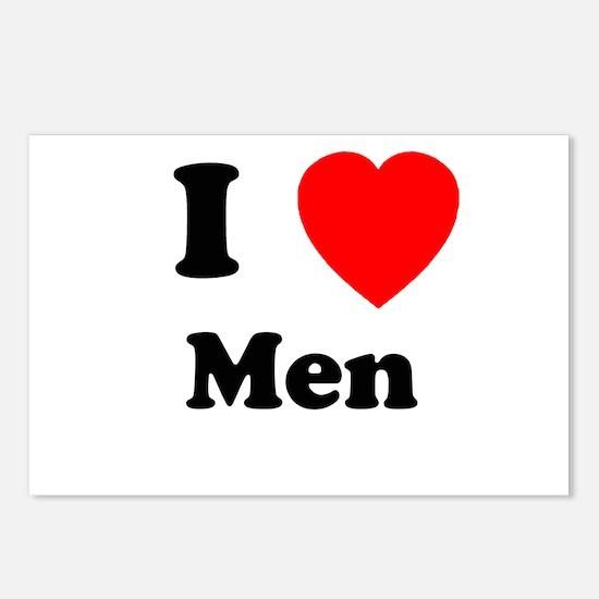 Men Postcards (Package of 8)