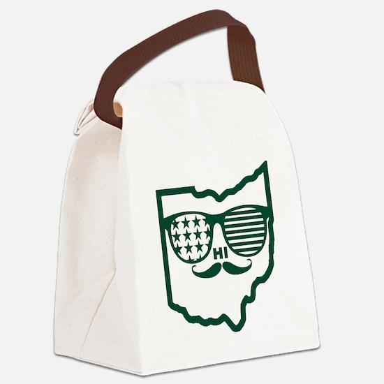 Ohio Custom design Canvas Lunch Bag
