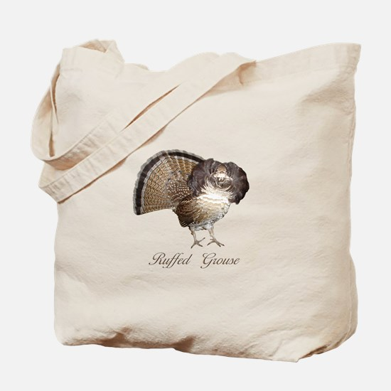 Strutting Grouse Tote Bag