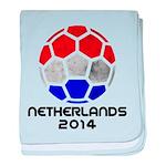 Netherlands World Cup 2014 baby blanket