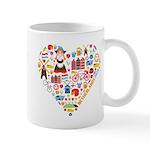 Netherlands World Cup 2014 Heart Mug