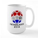 Netherlands World Cup 2014 Large Mug