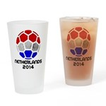 Netherlands World Cup 2014 Drinking Glass