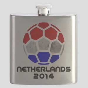 Netherlands World Cup 2014 Flask