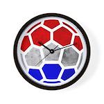 Netherlands World Cup 2014 Wall Clock