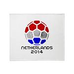 Netherlands World Cup 2014 Throw Blanket