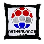 Netherlands World Cup 2014 Throw Pillow