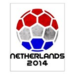 Netherlands World Cup 2014 Small Poster