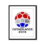 Netherlands World Cup 2014 Framed Panel Print