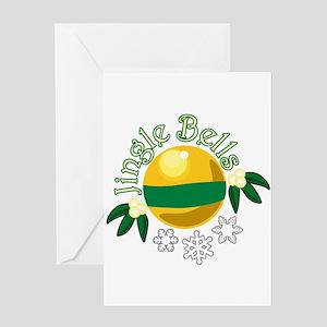 Jingle Bells Greeting Cards