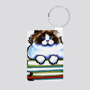 Ragdoll Cat Books Keychains