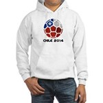 Chile World Cup 2014 Hooded Sweatshirt