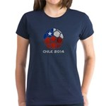 Chile World Cup 2014 Women's Dark T-Shirt