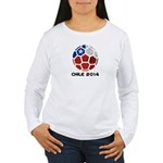 Chile World Cup 2014 Women's Long Sleeve T-Shirt