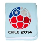 Chile World Cup 2014 baby blanket