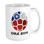 Chile World Cup 2014 Large Mug