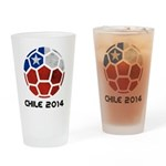 Chile World Cup 2014 Drinking Glass