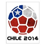 Chile World Cup 2014 Small Poster