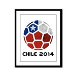 Chile World Cup 2014 Framed Panel Print