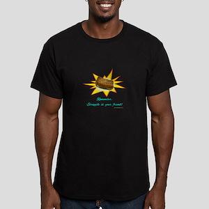 Scrapple... Men's Fitted T-Shirt (dark)