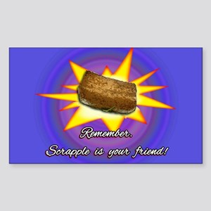 Scrapple... Sticker (Rectangle)