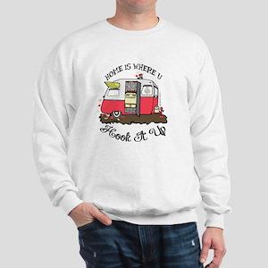 vintage red shasta Sweatshirt
