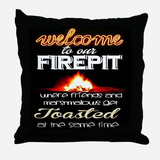 friends/party Throw Pillow
