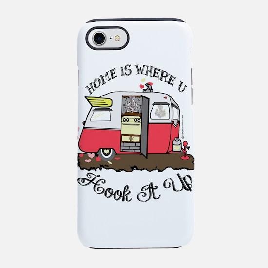 vintage red shasta iPhone 7 Tough Case