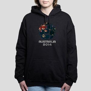 Australia World Cup 2014 Women's Hooded Sweatshirt