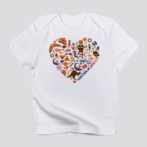 Australia World Cup 2014 Heart Infant T-Shirt