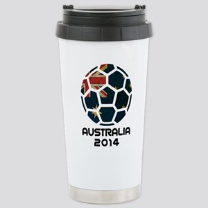 Australia World Cup 201 Stainless Steel Travel Mug