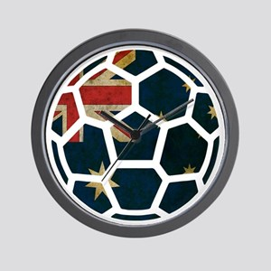 Australia World Cup 2014 Wall Clock