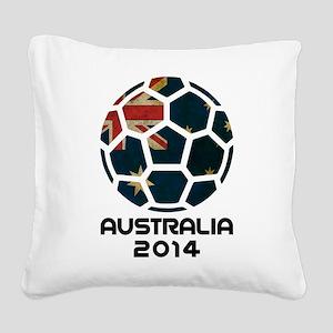 Australia World Cup 2014 Square Canvas Pillow